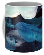 Blue Fish Coffee Mug by Maria Langgle