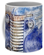 Blue Gmc Truck Coffee Mug by Brad Allen Fine Art