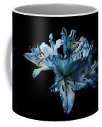 Blue Lilies Coffee Mug