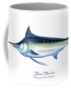Blue Marlin Coffee Mug