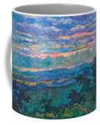 Blue Ridge Evening Light Coffee Mug by Kendall Kessler