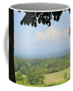 Blue Ridge Mountains And Vineyards Coffee Mug