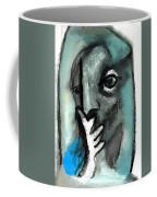 Blue Thinker Coffee Mug