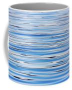 Blue Water Abstract 8621 Coffee Mug