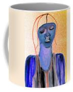 Blue Woman Coffee Mug