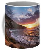 Bluff Cove At Sunset Coffee Mug by Andy Konieczny