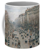 Boulevard Montmartre - Afternoon, Sunlight, 1897 Coffee Mug