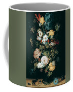 Bouquet Of Flowers  The So Called Liechtenstein Bouquet        Coffee Mug