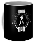 Boxing Mom Combat Sport Martial Arts Training Coffee Mug