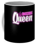 Boxing Queen Combat Martial Arts Training Coffee Mug