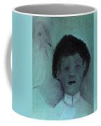 Boy With A Bird Coffee Mug