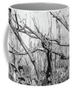 Branches In Black And White Coffee Mug