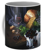 Bread And Wine Coffee Mug by Clint Hansen