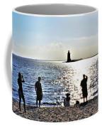 Breakwater East End Beach Scene Coffee Mug