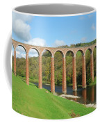bridge over river Tweed near Melrose Coffee Mug