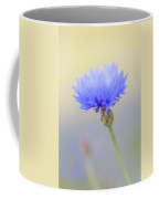 Bright Blue Cornflower Coffee Mug