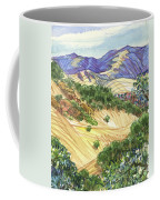 Briones From Mount Diablo Foothills Coffee Mug by Judith Kunzle