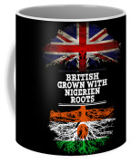 British Grown With Nigerien Roots Coffee Mug