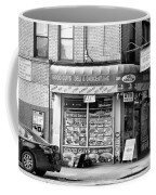 Brooklyn Deli Black White  Coffee Mug