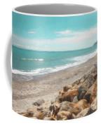 Bruce Bay New Zealand Painterly Coffee Mug