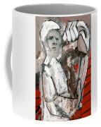 Builder Carrying Wood Coffee Mug