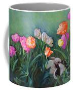 Bunnies In The Blooms Coffee Mug