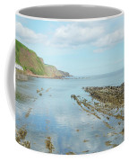 Burnmouth Shore, Cliffs And North Sea Coffee Mug