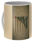 Burnt Matches Coffee Mug