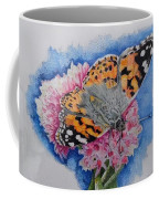 Butterfly At Lunch Coffee Mug