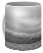 Cactus Roll Cloud Bw Coffee Mug by Scott Cordell