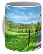 Cades Cove In Spring Coffee Mug by Mel Steinhauer