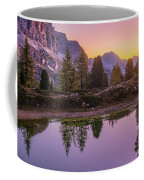 Calm Morning On Lago Di Limides Coffee Mug by Dmytro Korol