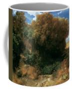 Campagna Landscape 1858 Coffee Mug