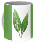 Cannas Leaves Coffee Mug