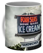 Cape Cod Four Seas Home Made Ice Cream Neon Sign Coffee Mug