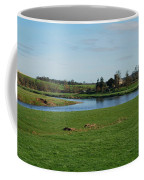 Carham Church And River Tweed Coffee Mug
