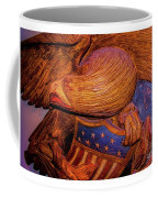 Carved Wood - Eagle Coffee Mug