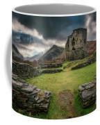 Castle  Dolbadarn Snowdonia Coffee Mug by Adrian Evans