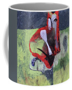 Cat With Other Garden Animals Coffee Mug