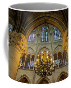 Cathedral Notre Dame Chandelier Coffee Mug by Brian Jannsen
