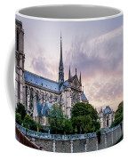 Cathedral Of Notre Dame From The Bridge - Paris France Coffee Mug