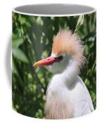 Cattle Egret Profile Coffee Mug