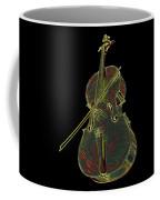 Cello Music Instrument Professional Musician Designed Coffee Mug