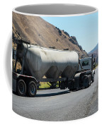 Cement Truck Turning Coffee Mug