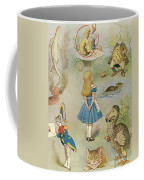 Characters From Alice In Wonderland  Coffee Mug