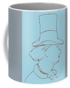Charles Baudelaire By Edouard Manet Coffee Mug