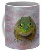Charming American Bullfrog Coffee Mug by Rockin Docks