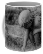 Cherub In The Grass Coffee Mug
