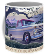 Chevy Truck Centennial 1964 Shortbed Custom Half Ton Coffee Mug