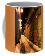 Chicago Alleyway At Night Coffee Mug